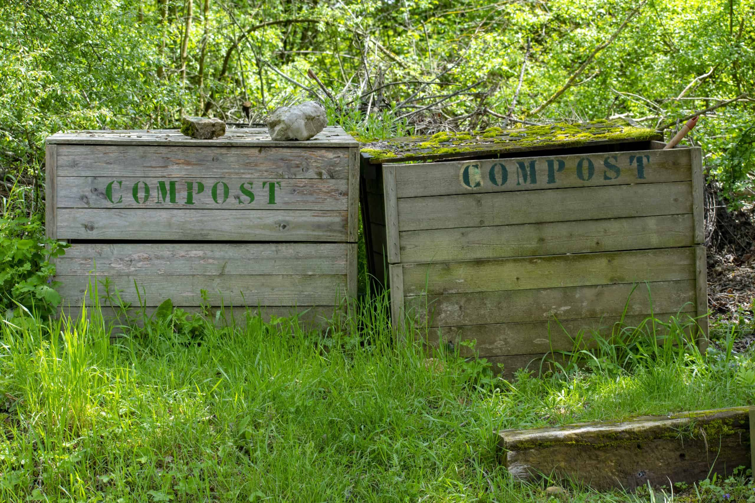 how to heat up compost