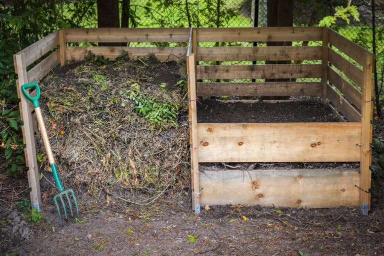 how to compost with open pile composting