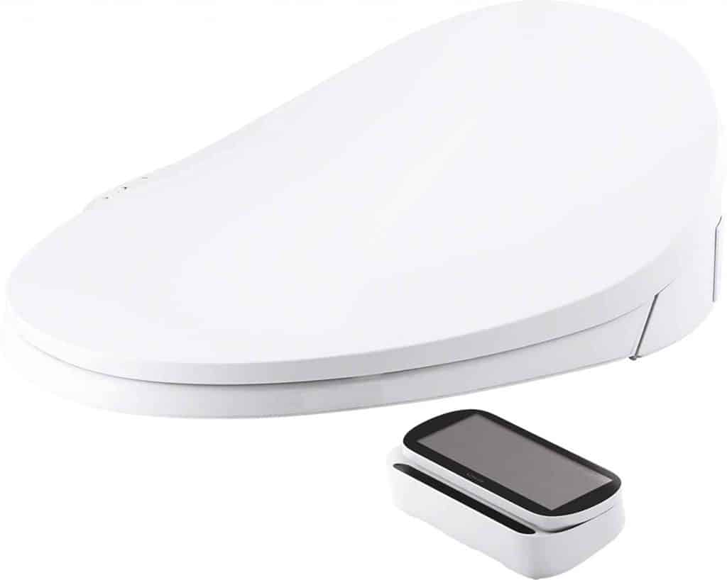 Kohler C3 230 bidet with touch screen remote control