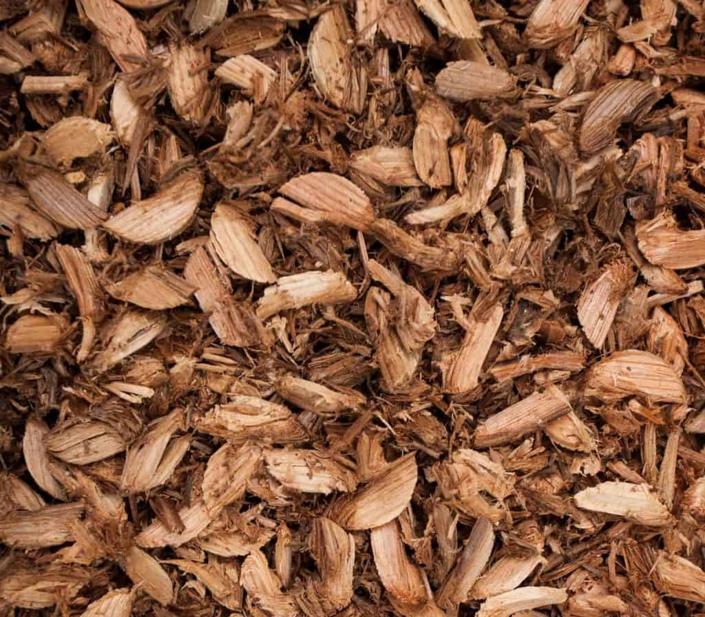 best cover material for composting toilets wood chips