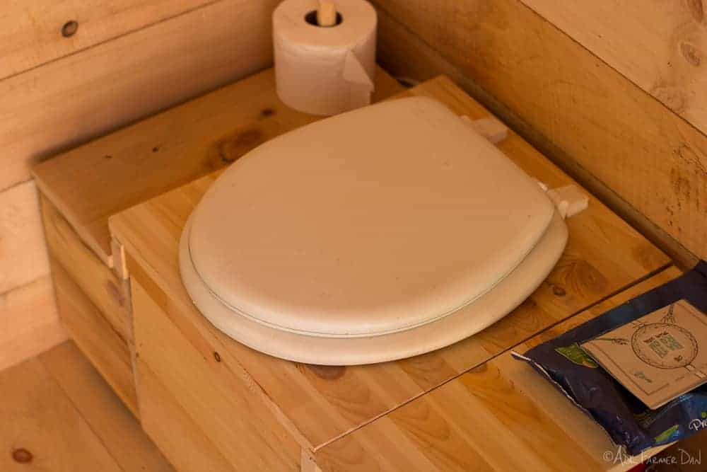 homemade composting toilet