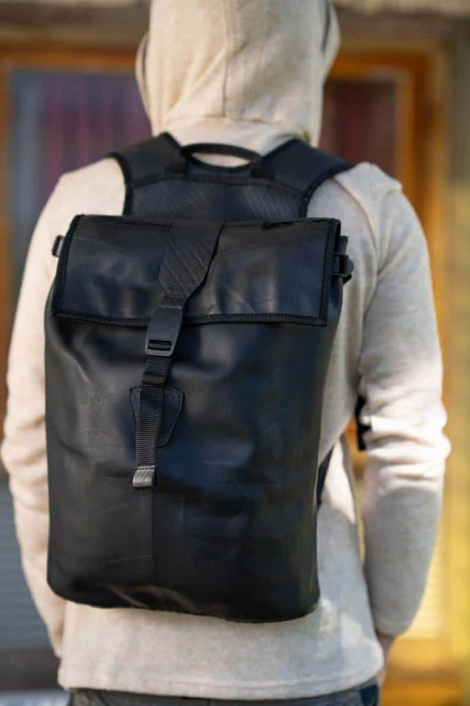 Recycled Rucksack Laptop Bag